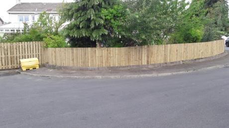 Fencing in West Lothian